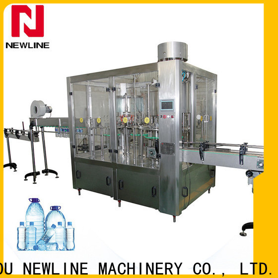 NEWLINE High-quality water bottling equipment prices manufacturers bulk production