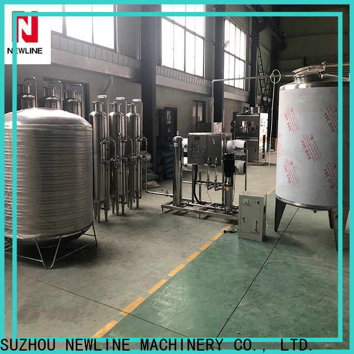 NEWLINE ro water treatment system company for packaging