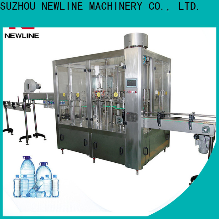 NEWLINE Custom bottled water processing plant for business on sale