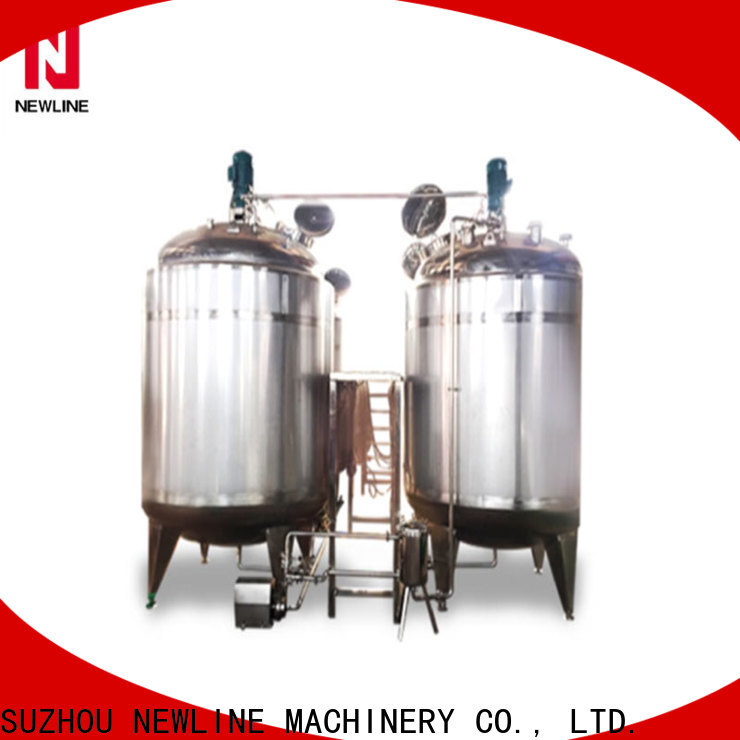 NEWLINE juice mixing tank for business bulk production