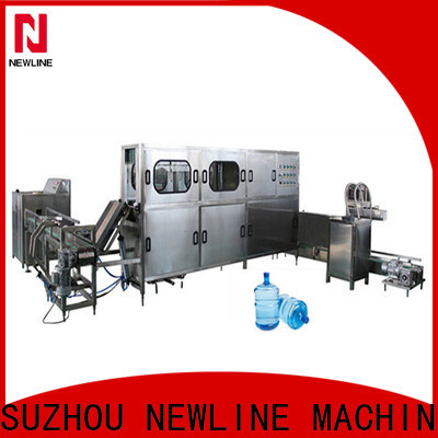 NEWLINE Latest 20 liter water bottle filling machine manufacturers for promotion