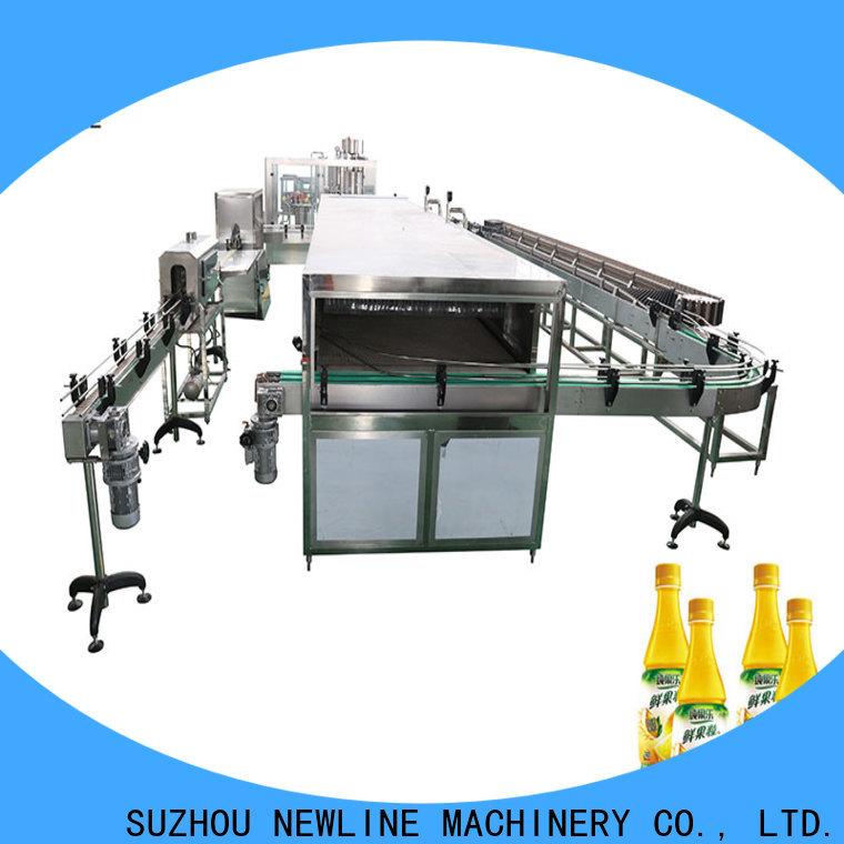 NEWLINE juice bottle filling machine Suppliers for promotion