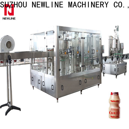 NEWLINE Custom juice bottling machine company bulk production