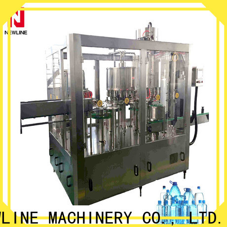 High-quality machinery required for mineral water plant company for packaging