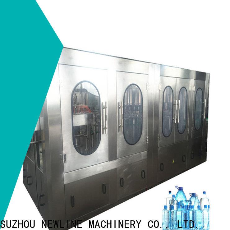NEWLINE machine water bottle for business bulk production