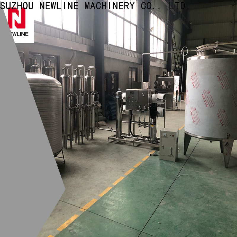 NEWLINE Custom ro water purification system factory for packaging
