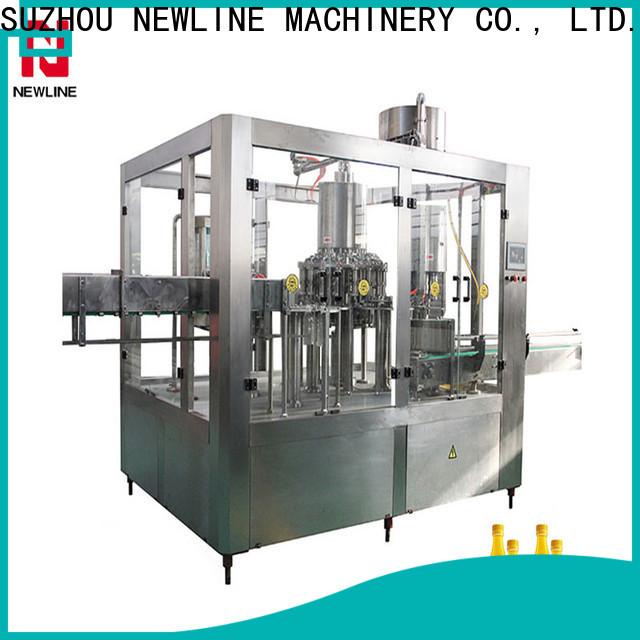 NEWLINE juice bottle filling machine Suppliers on sale