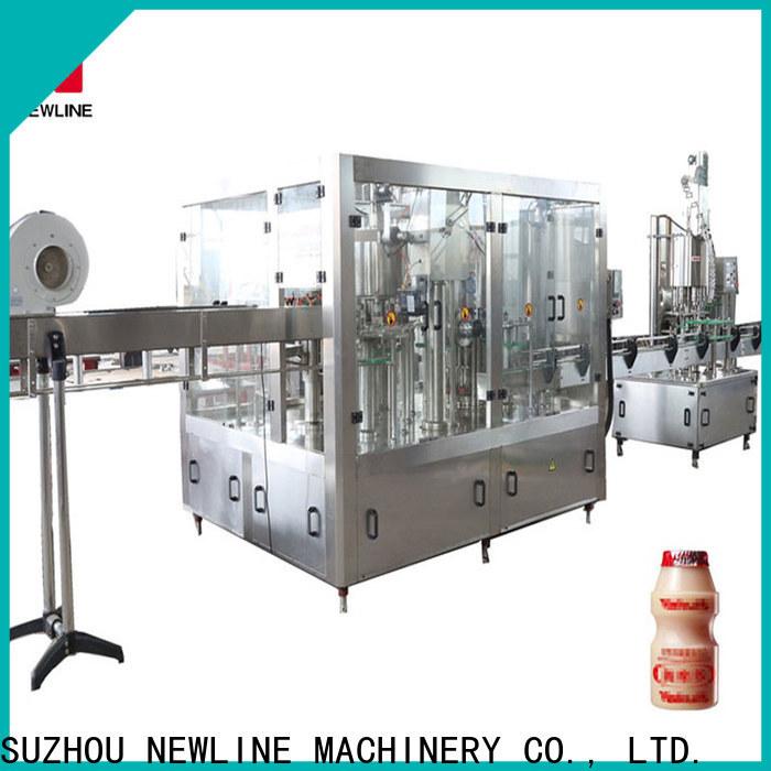 NEWLINE Wholesale juice bottle filling machine company bulk production