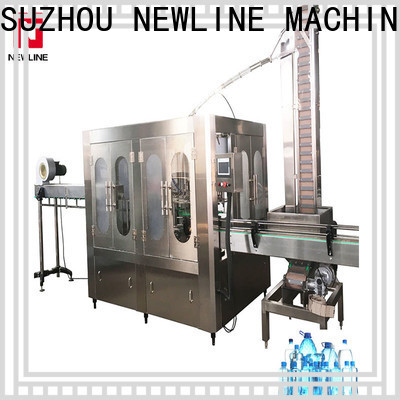 NEWLINE fully automatic mineral water plant cost for business for promotion
