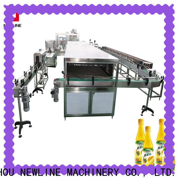 NEWLINE juice bottling machine factory for packaging