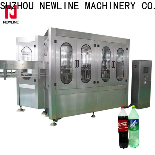 NEWLINE Best carbonated beverage filling machine factory for packaging