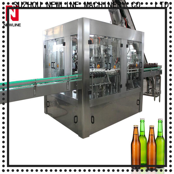 NEWLINE High-quality carbonated beverage filling machine manufacturers bulk production