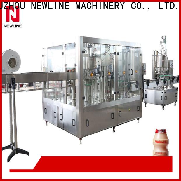 NEWLINE Latest yogurt filling machine Supply for promotion