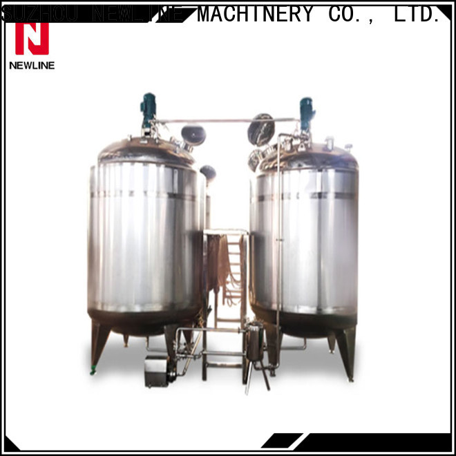Custom beverage mixing tank for business bulk production
