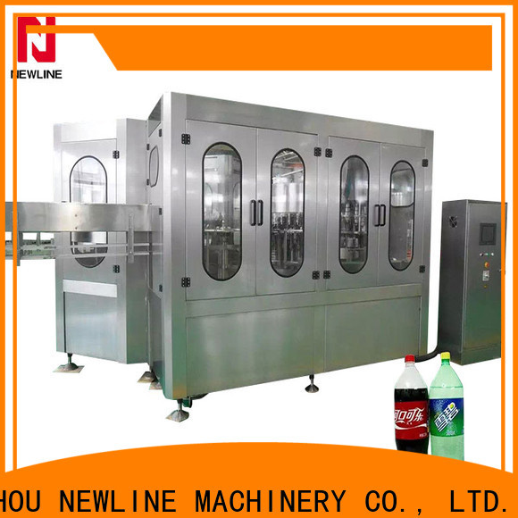 NEWLINE filling machines and equipment for business bulk production