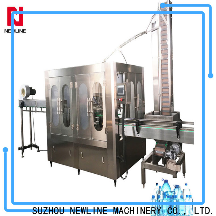 NEWLINE machines for making bottled water factory on sale