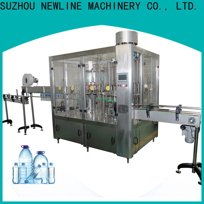 NEWLINE water bottle machine price factory for packaging