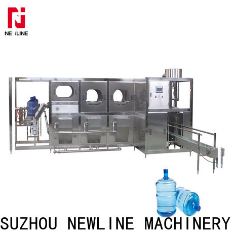 NEWLINE Custom mineral water bottling plant factory for packaging
