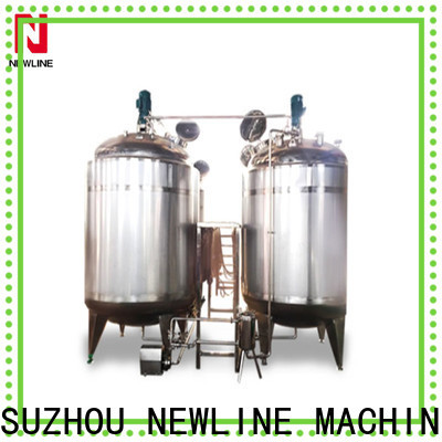 NEWLINE Latest beverage mixing tank manufacturers for promotion
