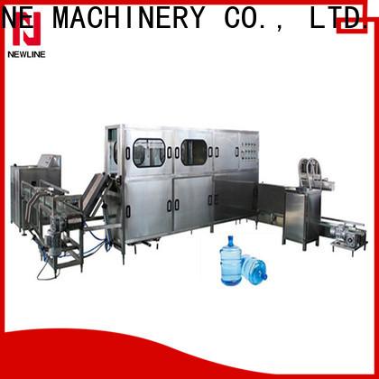 NEWLINE gallon filling machine factory bulk production