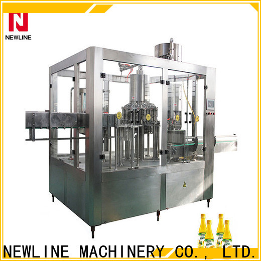 NEWLINE liquid bottle filling machine company for packaging