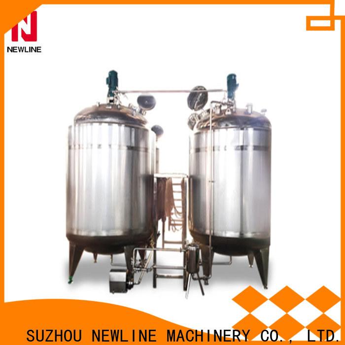 Wholesale beverage mixing tank Supply bulk production