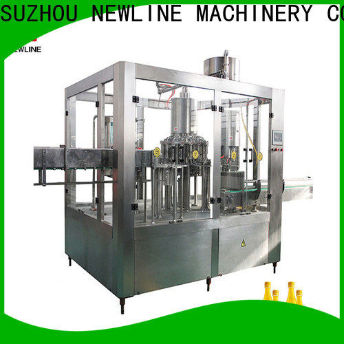 NEWLINE liquid filling machine manufacturer company for packaging