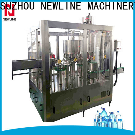 NEWLINE Top water bottling plant equipment for sale Suppliers for packaging