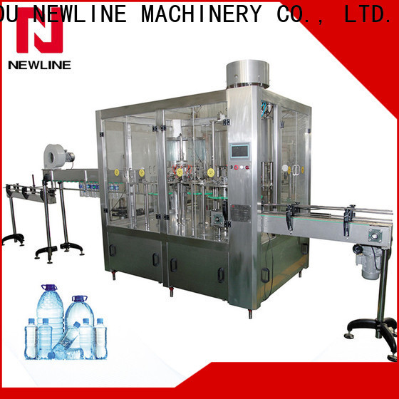 NEWLINE water bottle manufacturing machine manufacturers for promotion