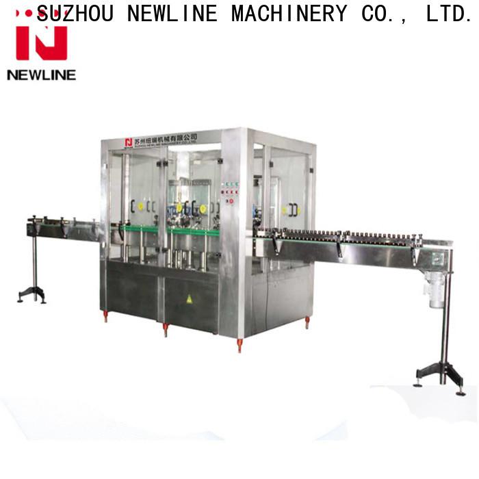 NEWLINE liquid filling machine manufacturer for business bulk production