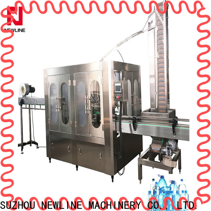 NEWLINE machines for making bottled water company bulk production