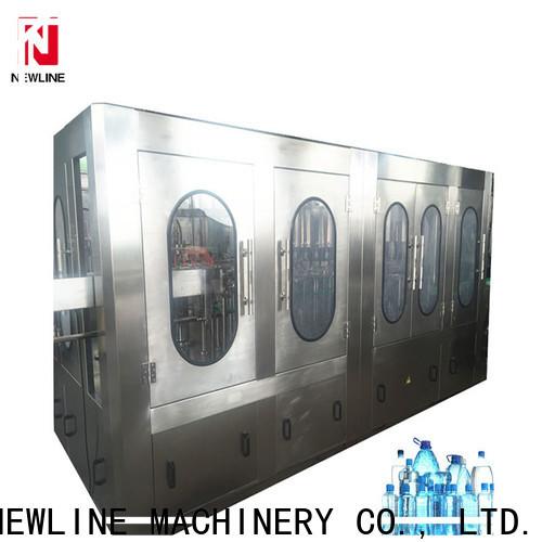 NEWLINE New water bottling machine cost Suppliers bulk buy