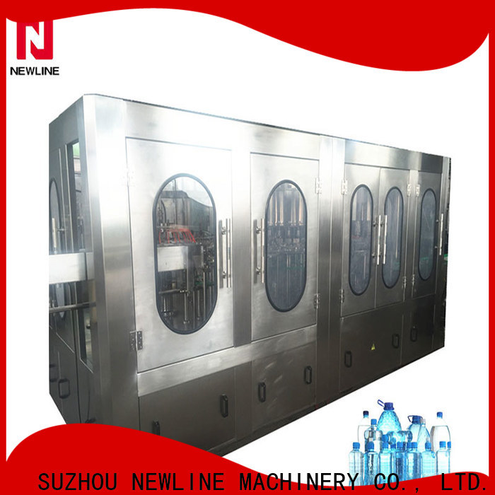 NEWLINE Best bottled water production line company bulk buy