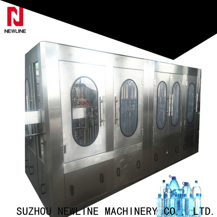 NEWLINE Wholesale complete mineral water bottling plant for business for promotion