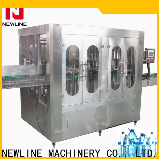 NEWLINE mineral water machine suppliers company bulk production