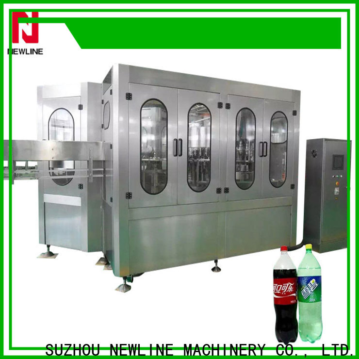 NEWLINE High-quality soda filling machine Suppliers on sale