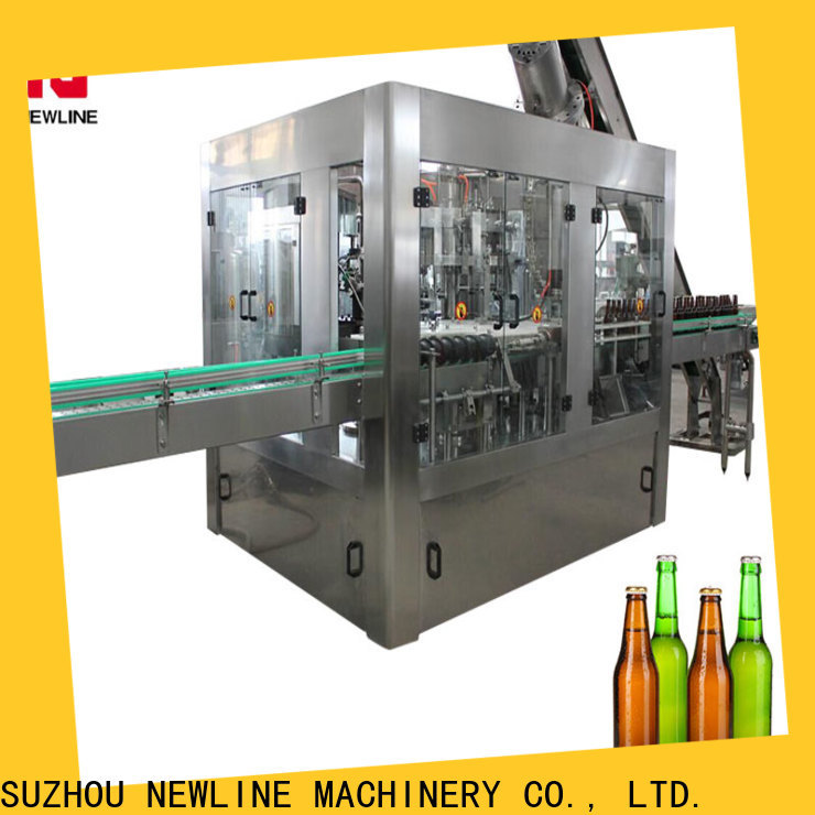 NEWLINE filling machines and equipment company for packaging