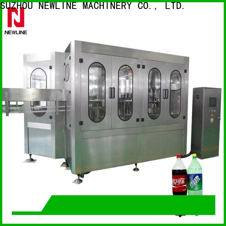 NEWLINE New soda filling machine Supply bulk buy