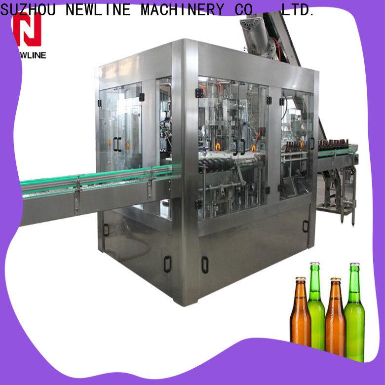 NEWLINE drink filling machine factory on sale