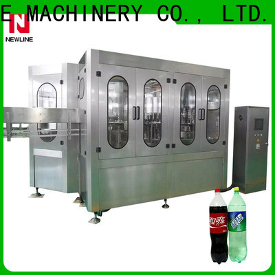 NEWLINE Custom soda filling machine factory for promotion