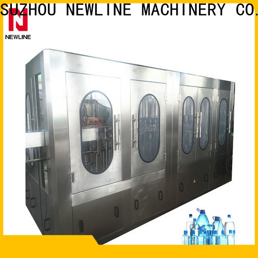NEWLINE small scale water bottling equipment factory for promotion
