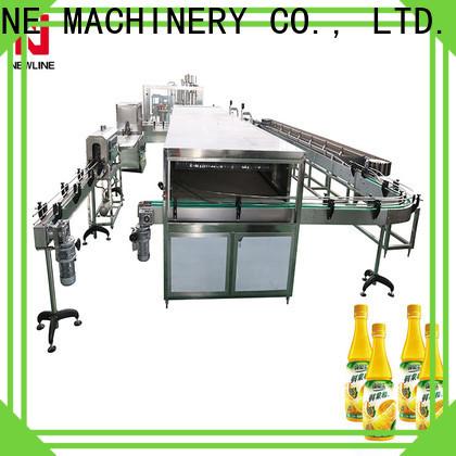 NEWLINE Custom milk bottling machine company for sale