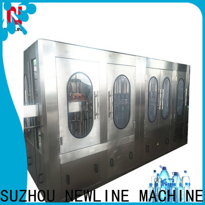 Newline water bottle sealing machine price for business bulk production