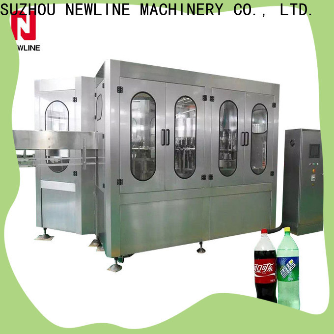 NEWLINE Top glass filling machine Supply for packaging