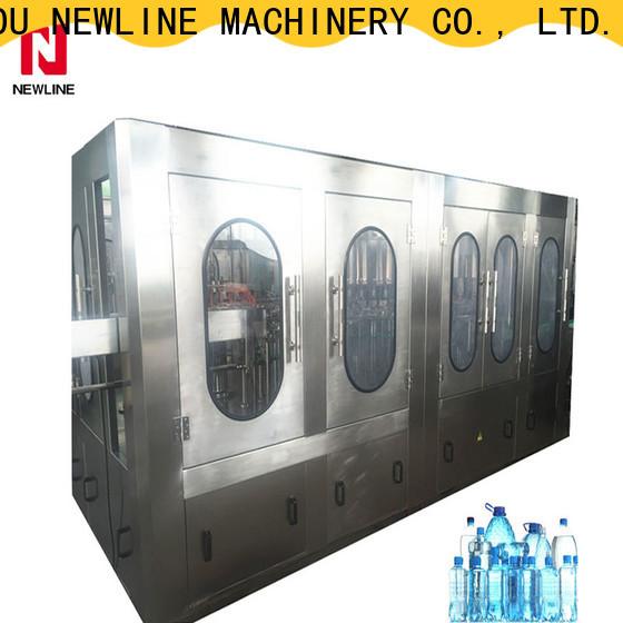 NEWLINE Latest water filling machine price manufacturers bulk production