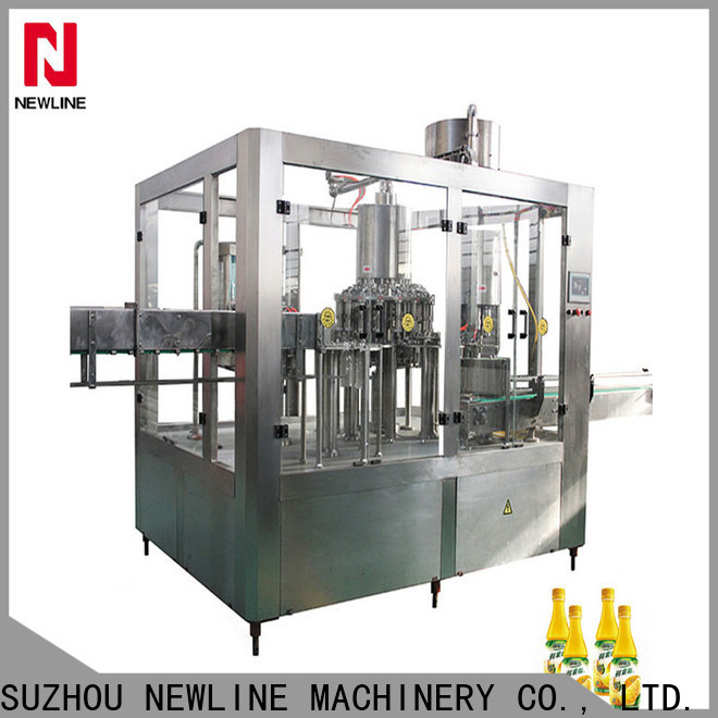NEWLINE Best milk bottle filling machine company for sale