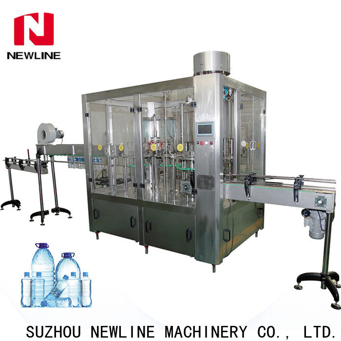 NEWLINE Latest fully automatic mineral water plant Supply bulk production