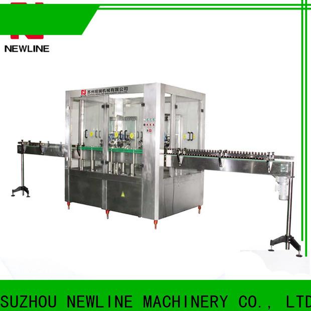 NEWLINE hot sauce bottle filling machine factory on sale