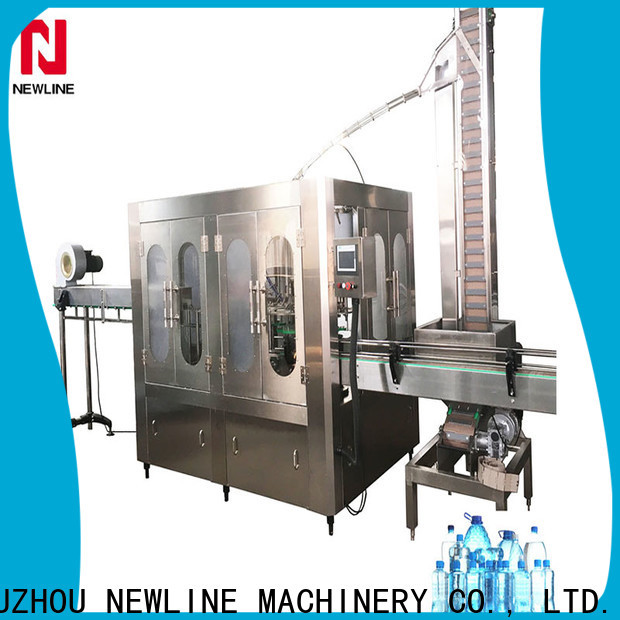 NEWLINE water purification and bottling plant Supply for promotion