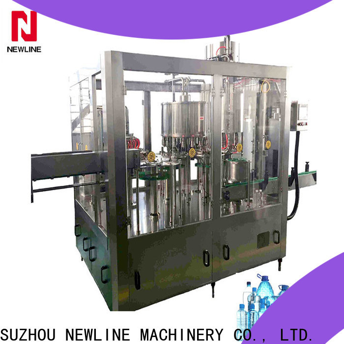 NEWLINE Best mineral water machine Supply for packaging